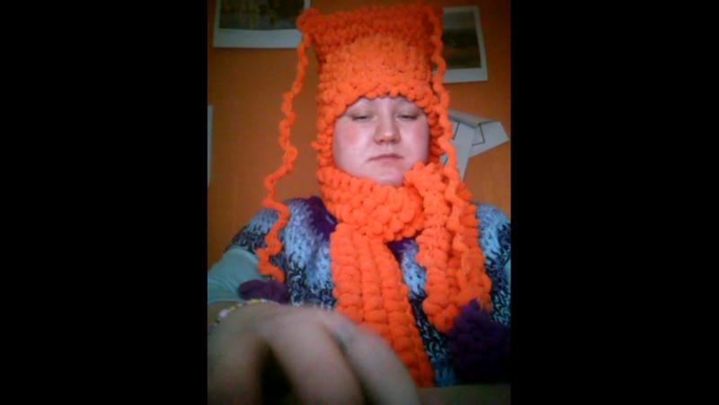 моя новая музыка Орифлейм.новые оранжевые вещи.сама связала крючком.спехова дарья.мс дэрис.