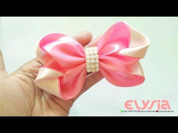 Ribbon Bow | DIY by Elysia Handmade