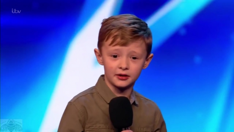 Britains Got Talent 2017 Ned Woodman 8 Year Old Comedian Full Audition S11E01