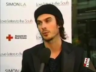 Ian Somerhalder Love Letters to the South (August 21.2006)