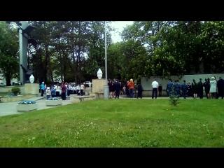 Кисловодск, накануне Дня Победы