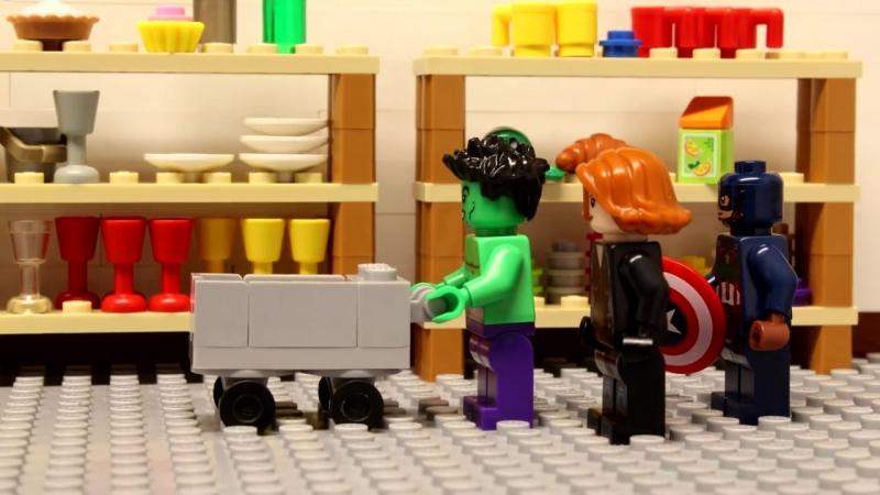 Lego Avengers - Black Panthers Birthday
