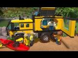 Lego City Передвижная лаборатория в джунглях 60160