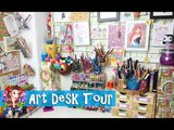 Art Workstation Tour 2017