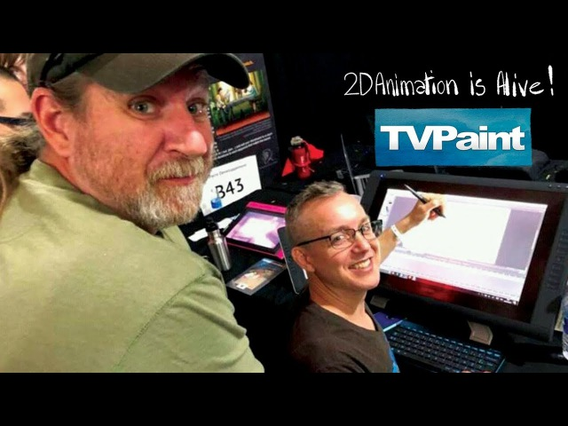 Aaron and Travis Blaise talk about 2D animation with TVPaint