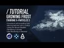 C4D X Particles TUTORIAL Procedural Growing Frost