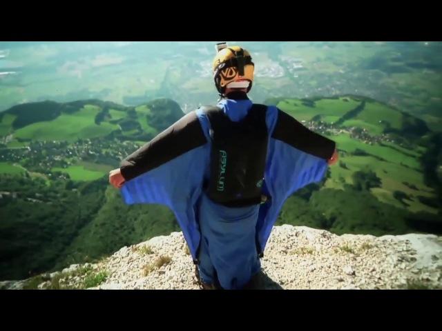 Бейсджампинг. Вингсьют. Basejumping. Wingsuit.