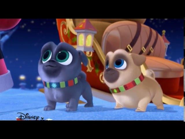 Дружные мопсы - Щенки встречают Рождество NEW