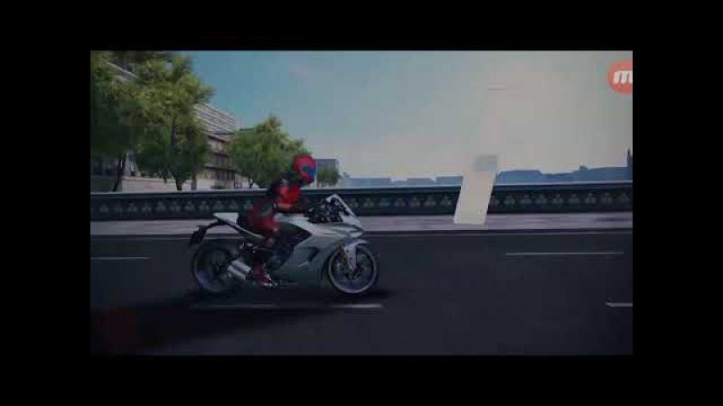 Asphalt 8, (Ducati SuperSport S).