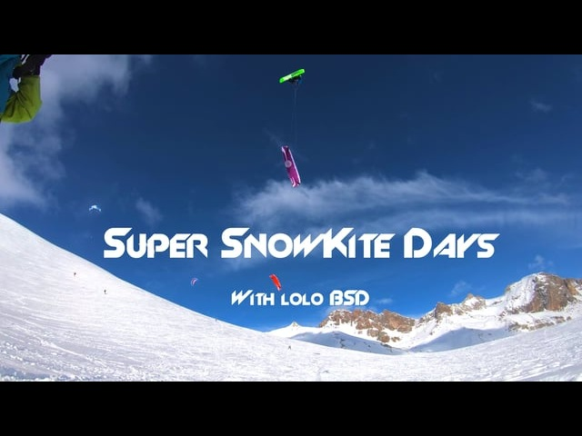 Super SnowKite Days with Lolo BSD