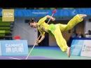 Смотрите выступление с копьем чемпионки Китая по ушу таолу Кан Вэньцун Age0