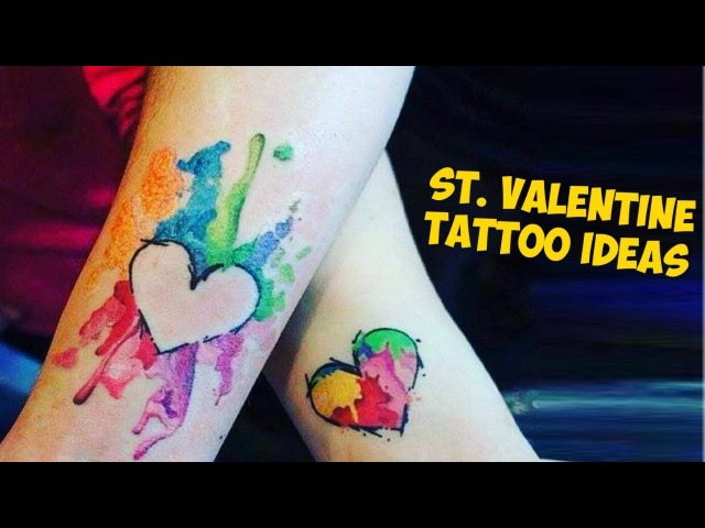 Cute St. Valentine's Tattoo Ideas For Couples