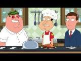 Гриффины - ЛУЧШИЕ МОМЕНТЫ. #5: Брайан и Стьюи на таблетках, масло-повар Питер.