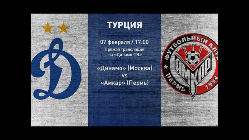 Динамо vs Амкар Live