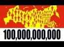 Что, ЕСЛИ 100 МИЛЛИАРДОВ ЧЕЛОВЕК НА ЗЕМЛЕ