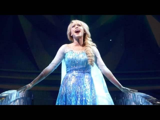Frozen Live- Let it Go- Hyperion Theater- Front Center View
