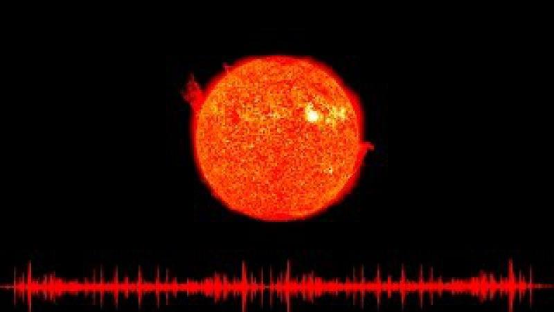 Sounds of the Sun | NASA | AUM ॐ| HD SOUND |