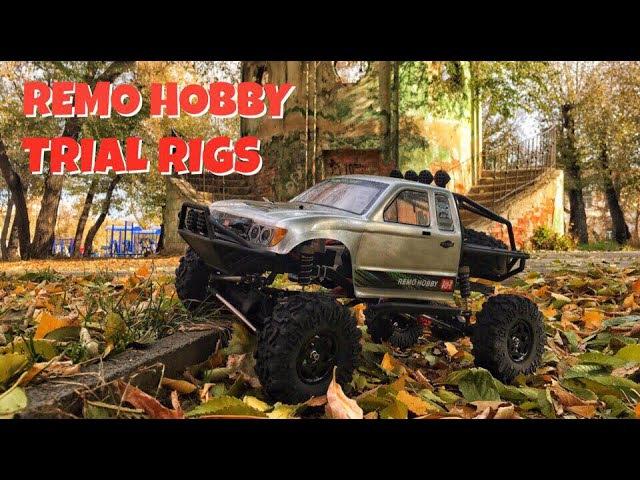 Remo Hobby TRIAL RIGS Rock Crawler 1/10 пробуем на улице. Обзор (2 часть)