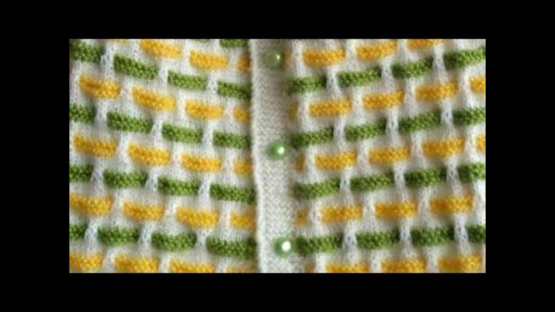 Easy Multi-Colour Woolen Dress for Kids in Hindi/Requested Video:Design-133