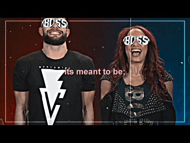 Sasha banks finn balor; its meant to be
