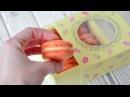 Макарон на французской меренге ☆ Начинка КРЕМ карамель ☆ Macaron