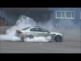 BURNOUTS &amp DRIFTS - 2x BMW M5 E39, 2x M5 F10, M5 E60, M3 E90 in Action!