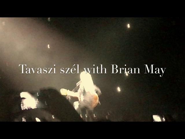 Brian May - Tavaszi szél live in Budapest