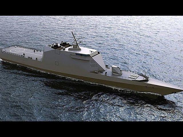 (156) Corvette Invisibility projet 20386 sera la fierté de la marine russe - YouTube