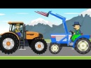 Farmer Fairy Tales For Kids Collection of animation Tractor Bajka Przygody rolników 😗