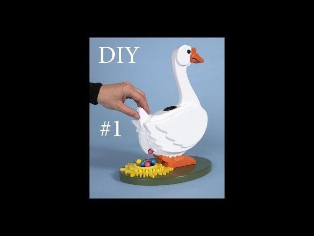 DIY/ Утка. часть1. Как сделать Настольную Игру с бусинами своими руками.