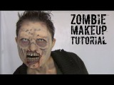 Zombie Halloween SFX Makeup Tutorial! Ultimate Zombie Makeover Part 3!