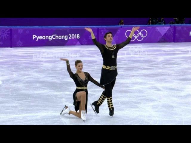 Произвольная программа. Танцы нальду. Фигурное катание. XXIII Олимпийские зимние игры