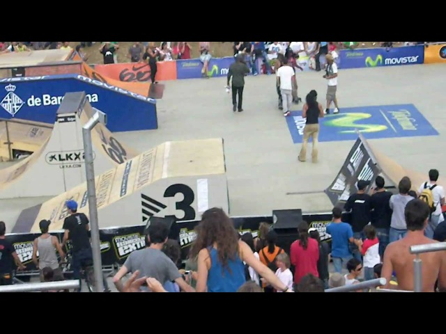 Franky Morales 900 al cuarter - Movistar Barcelona Xtreme 09