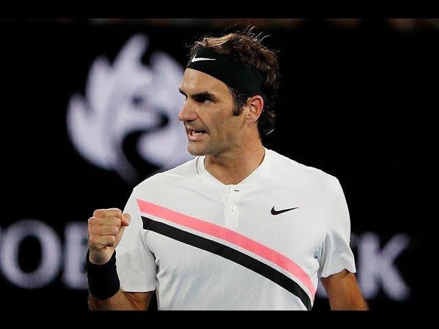 Roger Federer vs Marin Cilic Highlights AO 2018
