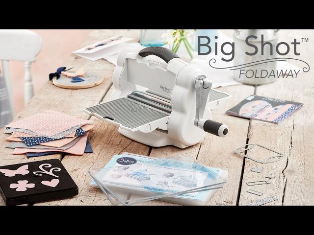 Introducing the NEW Big Shot™ Foldaway Machine!