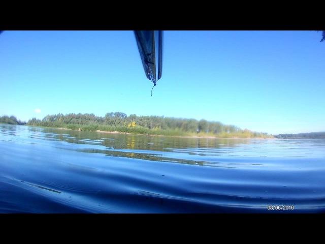 Подводная охота, река Уфа