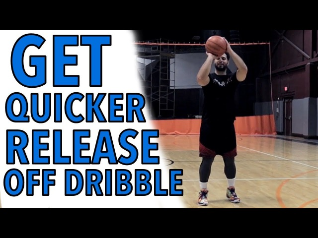 2 Secrets To Shoot A Basketball Better Off Dribble Faster!