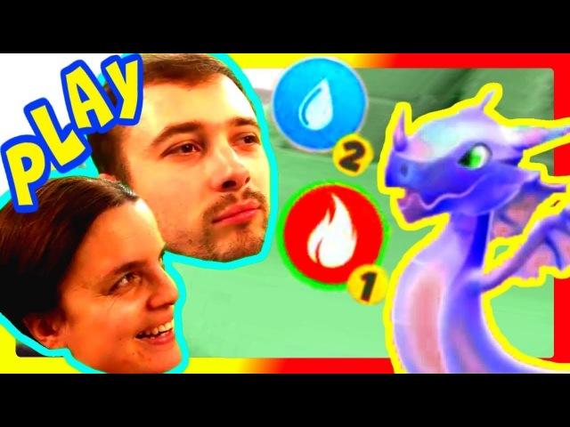 БолтушкА и ПРоХоДиМеЦ Тренируют Своих ДРАКОНОВ! 17 Игра для Детей - Легенды Дракономании