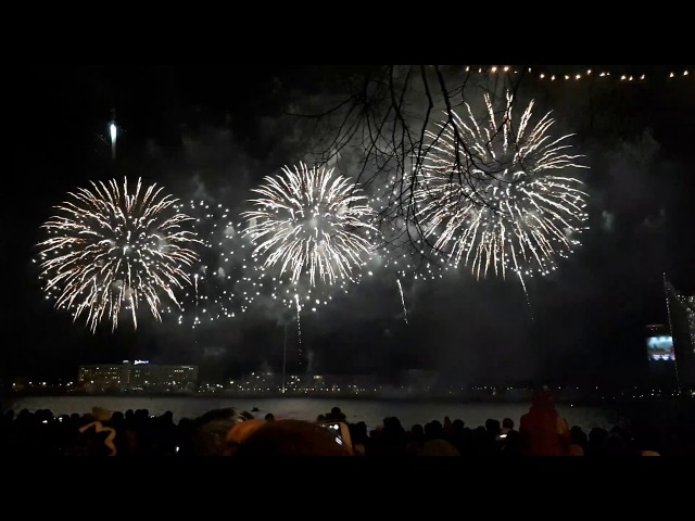 Latvia, Riga - Independence Day Fireworks - 18.11.2017