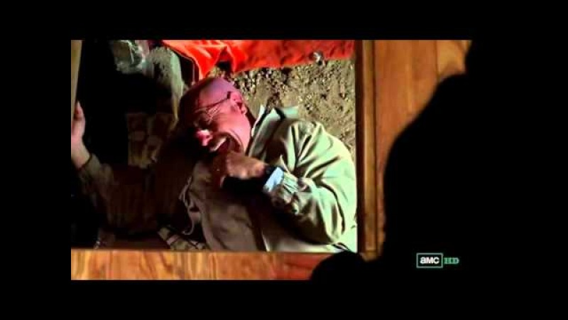 Breaking Bad - Walt loses it - (4x11 Crawl Space Ending Scene)