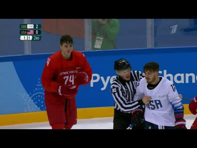 Россия-США 4-0. Голы. Олимпиада 2018 в Корее