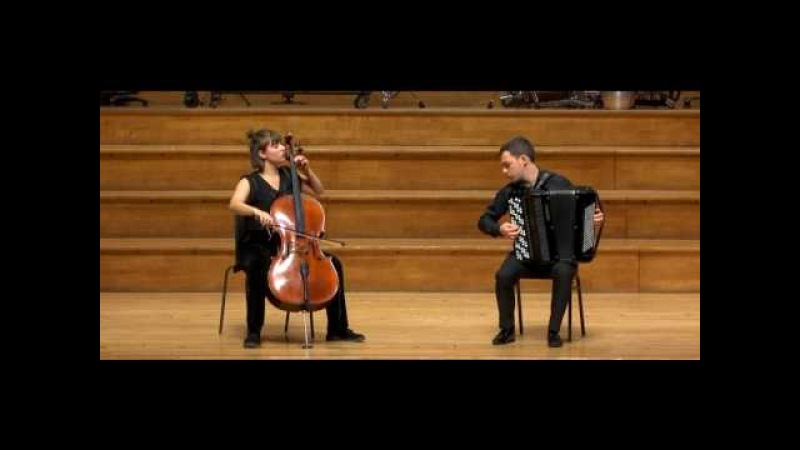 Duo Bayanello performs Ave Maria by Efrem Podgaits