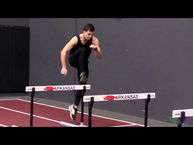 HOW TO HURDLE - 1 Step Drills Lead Leg Right