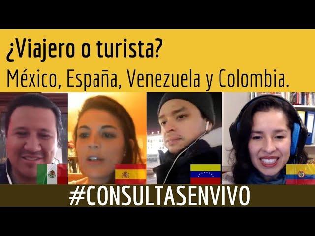 ¿Viajero o turista? | CONSULTAS EN VIVO | joserepetitor.co
