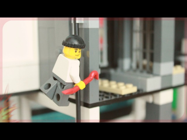 Трейлер Лего Побег из тюрьмы