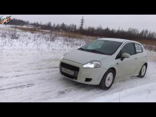 11.02.18 г. Иван Слепокуров. Fiat Grande Punto. Sprint Day/JSR/