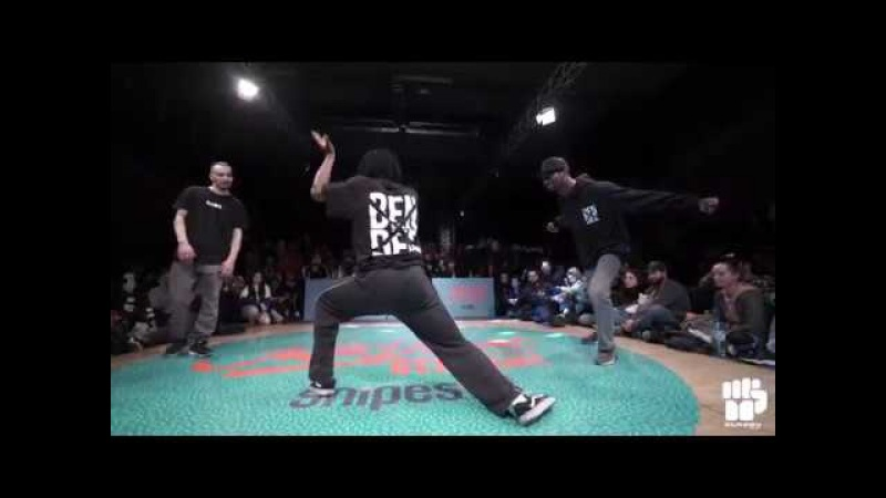 Juste Debout Germany 2018 Hip Hop Final | Ben Franky Dee vs Da Vibe Ukay | Danceproject.info