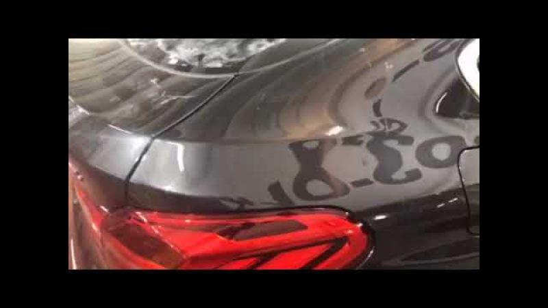 BMW X4 тонировка Большинство автолюбителей сразу же после покупки машины прибега