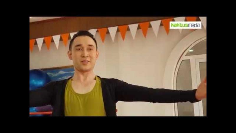 Арабские танцы бишкекского мужчины