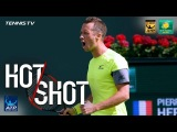 Hot Shot: How On Earth Does Kohlschreiber Make This Shot? Indian Wells 2018